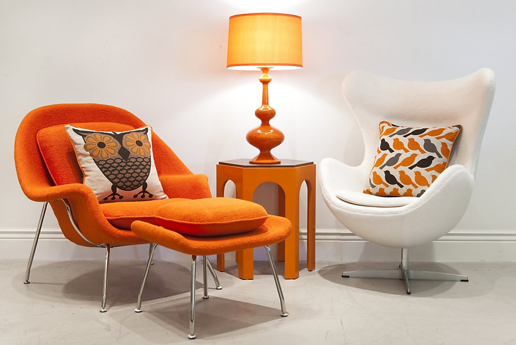 Midcentury Classic Womb Chair Enlivens A Room Sfgate