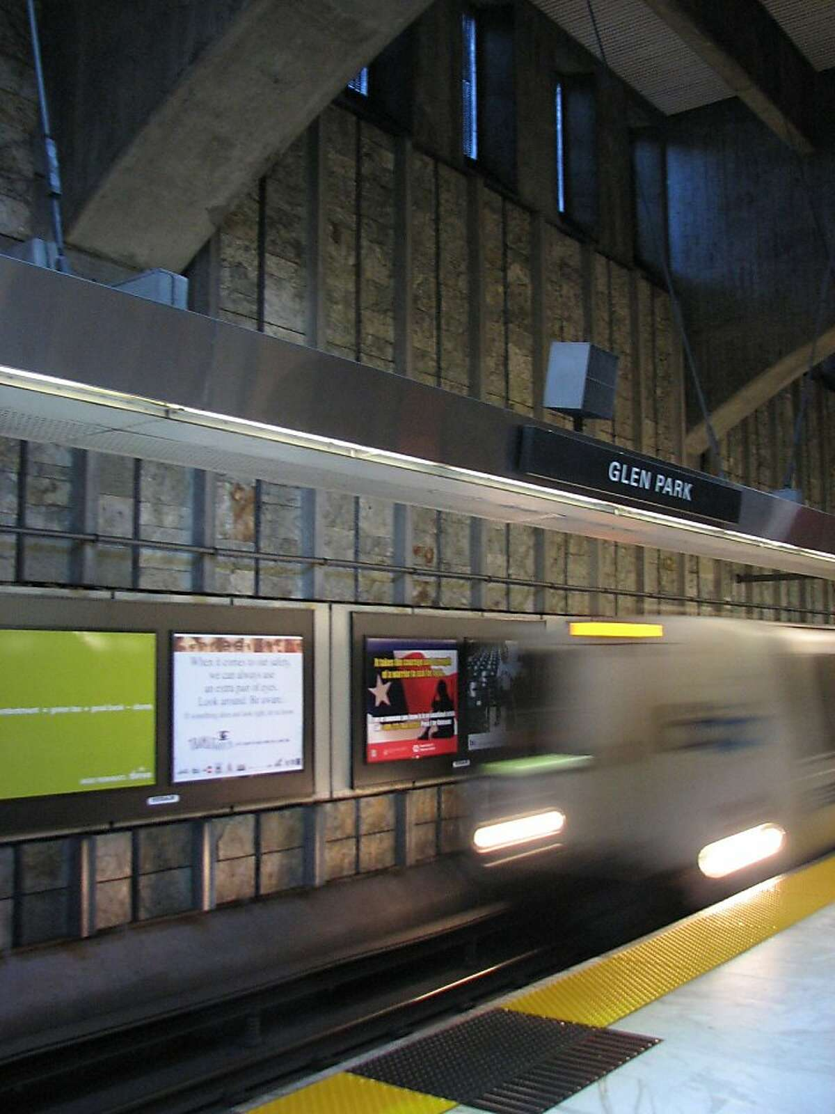 What the Glen Park BART station lacks in way of fancy architectural touches, it makes up for with structural drama and a shadowy aura Ran on: 10-04-2009 Photo caption Dummy text goes here. Dummy text goes here. Dummy text goes here. Dummy text goes here. Dummy text goes here. Dummy text goes here. Dummy text goes here. Dummy text goes here.###Photo: 0###Live Caption:What the Glen Park BART station lacks in way of fancy architectural touches, it makes up for with structural drama and a shadowy aura###Caption History:What the Glen Park BART station lacks in way of fancy architectural touches, it makes up for with structural drama and a shadowy aura###Notes:###Special Instructions: Ran on: 10-04-2009 Photo caption Dummy text goes here. Dummy text goes here. Dummy text goes here. Dummy text goes here. Dummy text goes here. Dummy text goes here. Dummy text goes here. Dummy text goes here.###Photo: 0###Live Caption:What the Glen Park BART station lacks in way of fancy architectural touches, it makes up for with structural drama and a shadowy aura###Caption History:What the Glen Park BART station lacks in way of fancy architectural touches, it makes up for with structural drama and a shadowy aura###Notes:###Special Instructions: