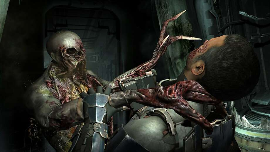 """A undated handout screen grab of the video game """"Dead Space 2,"""" which sipped more than two million copies in its first week.  Because video game makers straddle the lines between software development, the entertainment industry and online retailing, they can combine tax breaks in ways that companies like Netflix and Adobe cannot. (Electronic Arts and Visceral Games via The New York Times) -- NO SALES; FOR EDITORIAL USE ONLY WITH STORY SLUGGED TAX VIDEO GAMES BY DAVID KOCIENIEWSKI. ALL OTHER USE PROHIBITED.  Ran on: 09-11-2011 Electronic Arts shipped more than 2 million copies of blockbuster &quo;Dead Space 2&quo; in its first week. Photo: Electronic Arts And Visceral Gam"""