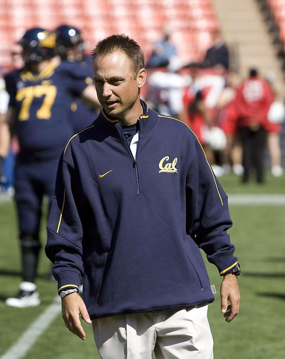 Eric Kiesau, Cal assistant football coach, Sept. 3, 2011.