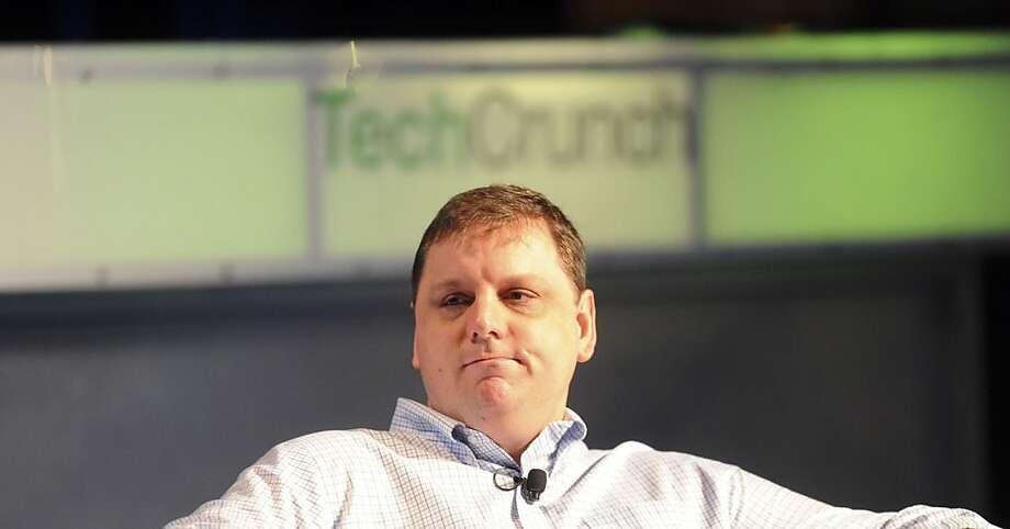 Michael Arrington, founder of TechCrunch, speaks at the TechCrunch Disrupt conference in San Francisco, California, U.S., on Monday, Sept. 27, 2010. The conference runs until Sept. 29. Photographer: Noah Berger/Bloomberg *** Local Caption *** Michael Arrington  Ran on: 09-29-2010 TechCrunch founder Michael Arrington agreed to remain with the company for at least three years. Ran on: 09-29-2010 TechCrunch founder Michael Arrington agreed to remain with the company for at least three years.  Ran on: 10-01-2010 TechCrunch's Michael Arrington.  Ran on: 09-03-2011 Michael Arrington founded the popular TechCrunch blog. Photo: Noah Berger, Bloomberg