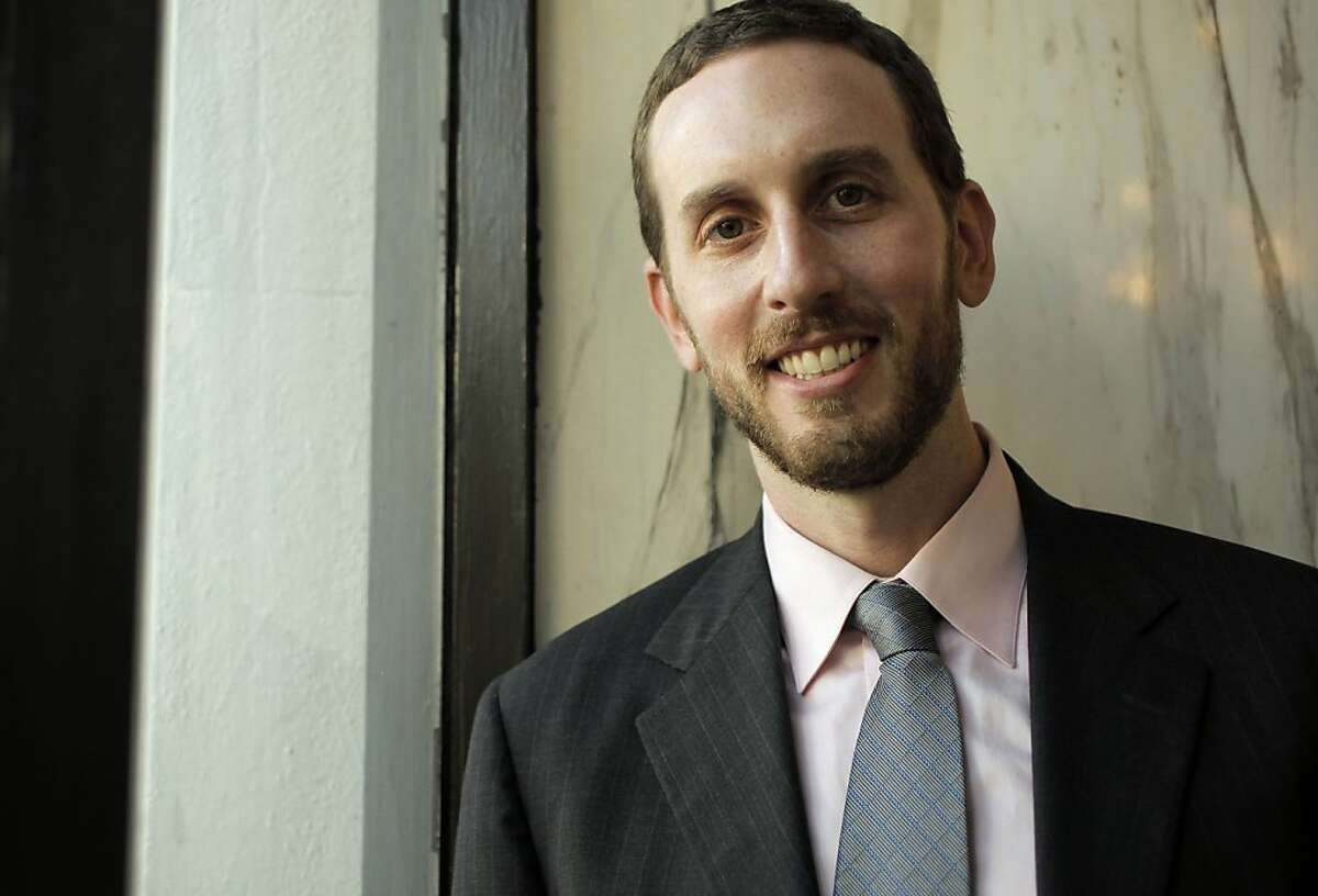Newly elected San Francisco supervisor Scott Wiener, of District 8, on Tuesday Dec. 7, 2010, in San Francisco, Calif. Ran on: 12-30-2010 Scott Wiener, deputy city attorney, began his campaign two years before the election. Ran on: 02-16-2011 New S.F. Supervisor Scott Wiener is wading into the contentious issue of dogs after just six weeks on the job, looking into requiring permits for dog walkers. Ran on: 02-16-2011 New S.F. Supervisor Scott Wiener is wading into the contentious issue of dogs after just six weeks on the job, looking into requiring permits for dog walkers. Ran on: 02-16-2011 New S.F. Supervisor Scott Wiener is wading into the contentious issue of dogs after just six weeks on the job, looking into requiring permits for dog walkers. Ran on: 04-15-2011 Scott Wiener
