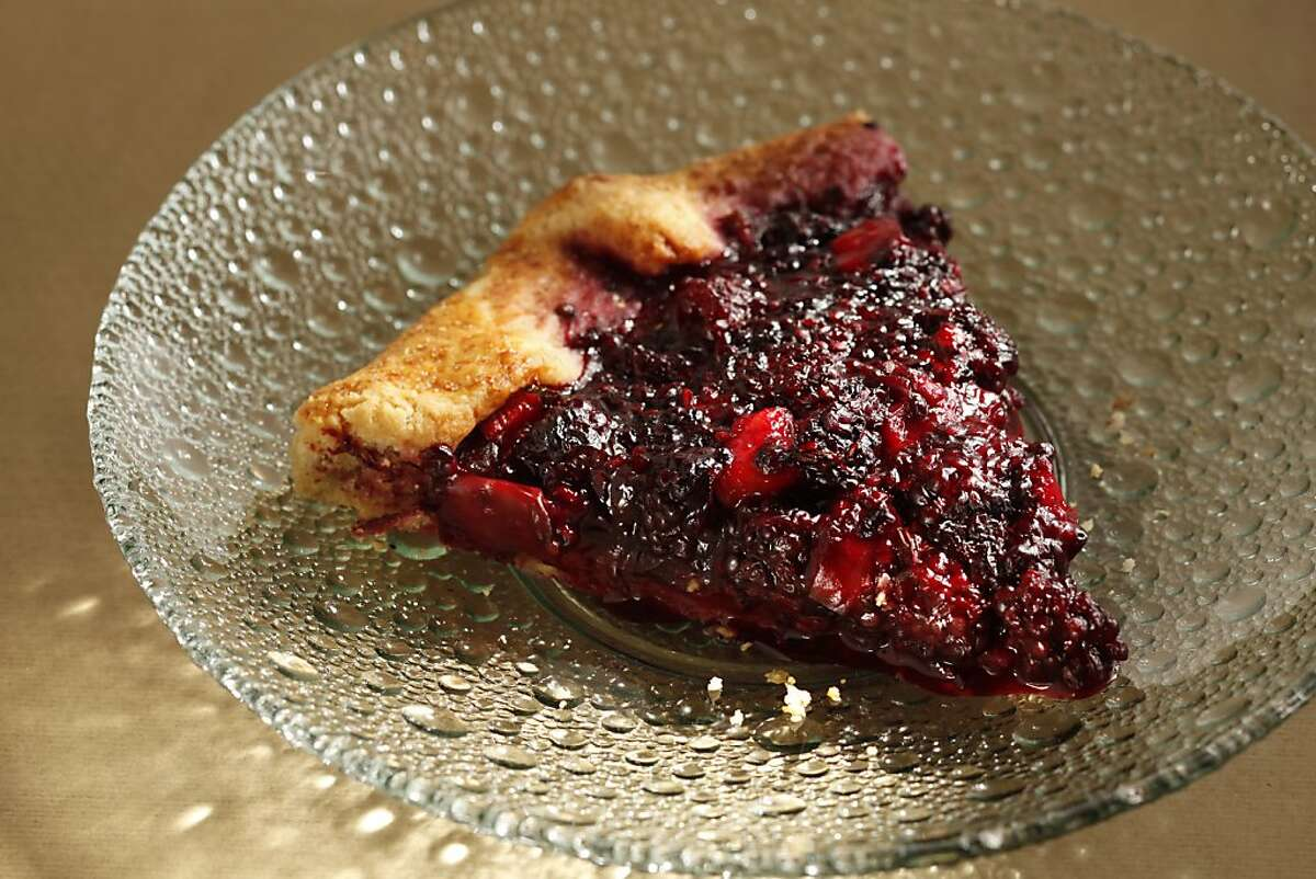 Found Fruit's blackberry thyme galette as seen in San Francisco, California, on Wednesday, August 24, 2011. Food styled by Clare Molla.