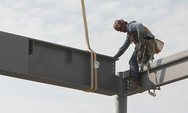 4 (tie). The Dallas area gained 5,100 construction jobs between October 2011 and October 2012. Photo: LM Otero, AP