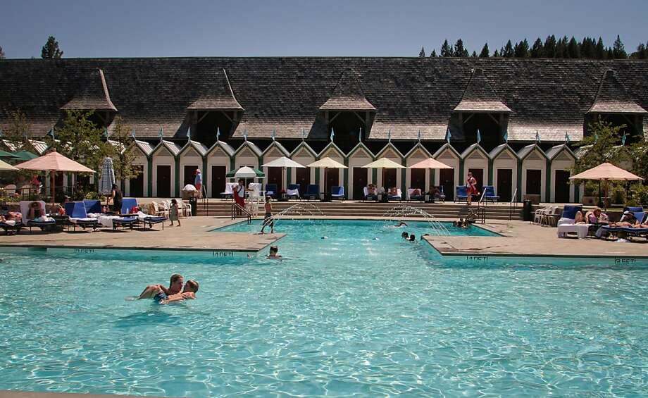 The pool at the Francis Ford Coppola Winery in Geyserville, Calif., is seen on July 22nd, 2011. Photo: John Storey, Special To The Chronicle