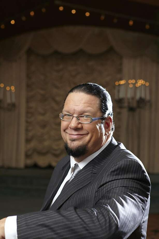 Penn Jillette. Photo: Michael Cogliantry