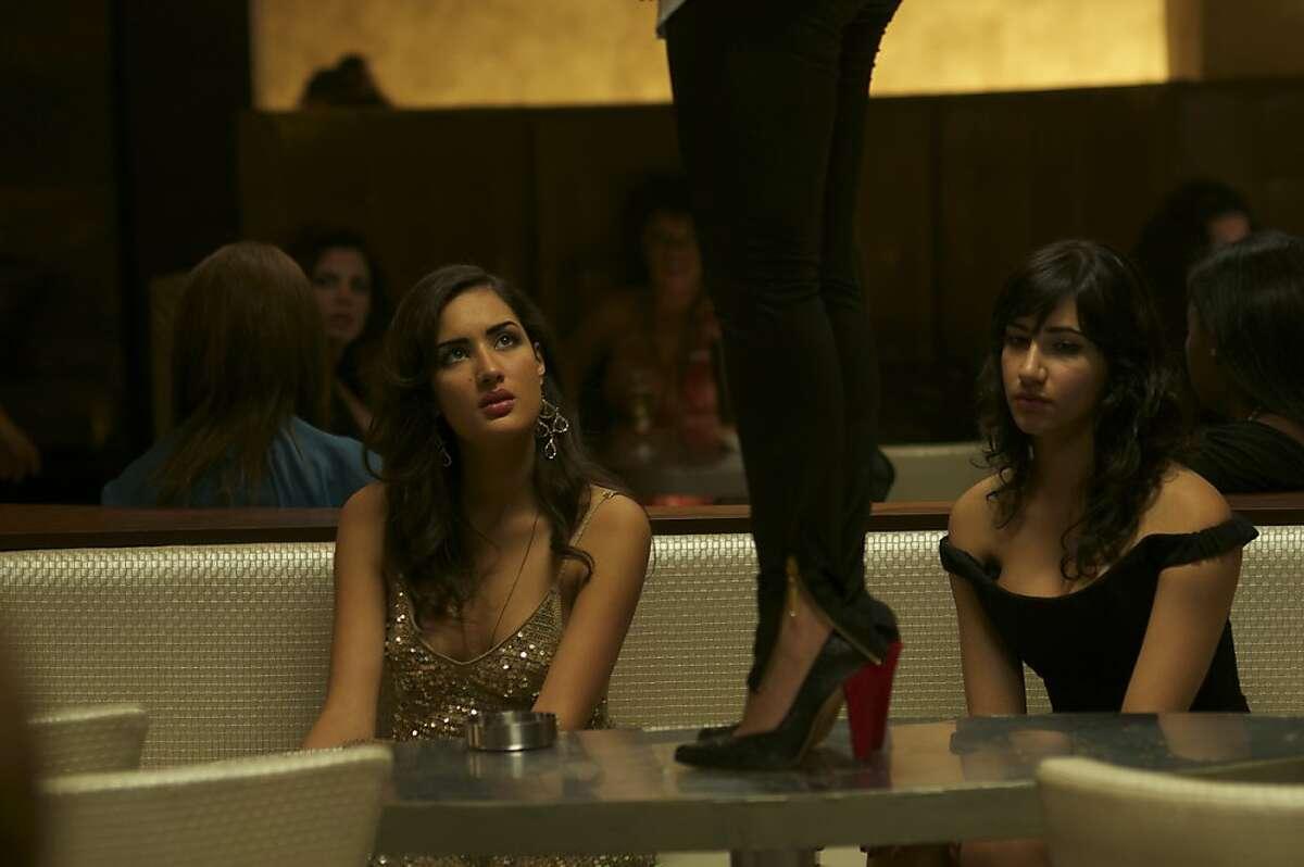 Sarah Kazemy as Shireen and Nikohl Boosheri as Atafeh in CIRCUMSTANCE, directed by Maryam Keshavarz.
