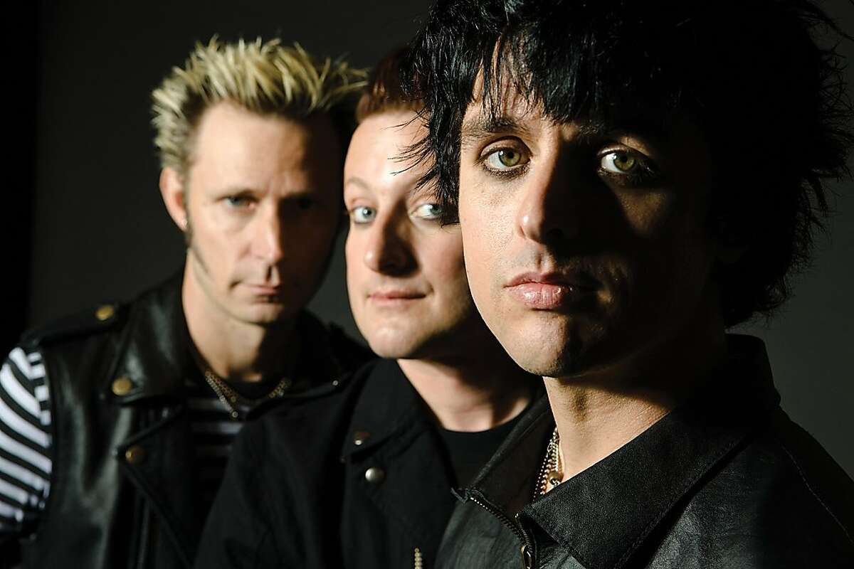 Green Day-the Grammy Award-winning band comprised of (l to r) Mike Dirnt, Tré Cool and Billie Joe Armstrong-are collaborating with Berkeley Rep to bring their multiplatinum album American Idiot to the stage. Photo courtesy of Warner Brothers Records Ran on: 08-30-2009 Green Day, consisting of (from left) Mike Dirnt, Tré Cool and Billie Joe Armstrong, has evolved from a three-chord punk trio to a band that sells out stadiums and aspires to the musical stage. Ran on: 01-02-2010 American Idiot by Green Day -- (from left) Mike Dirnt, Tré Cool and Billie Joe Armstrong -- led to a Grammy and stage musical. Ran on: 01-02-2010 Photo caption Dummy text goes here. Dummy text goes here. Dummy text goes here. Dummy text goes here. Dummy text goes here. Dummy text goes here. Dummy text goes here. Dummy text goes here.###Photo: deade02_ph1p0###Live Caption:Green Day-the Grammy Award-winning band comprised of (l to r) Mike Dirnt, Tré Cool and Billie Joe Armstrong-are collaborating with Berkeley Rep to bring their multiplatinum album American Idiot to the stage.__Photo courtesy of Warner Brothers Records###Caption History:Green Day