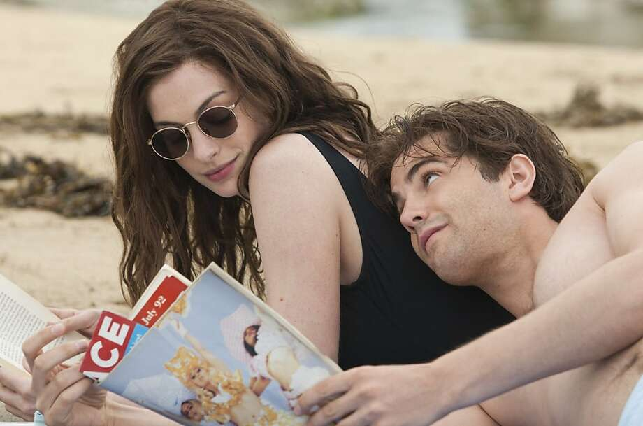 Anne Hathaway (left) and Jim Sturgess (right) star as Emma and Dexter in the romance ONE DAY, a Focus Features release directed by Lone Scherfig.  Ran on: 08-19-2011 Anne Hathaway and Jim Sturgess play a couple who meet in 1988 and follow separate paths for years.  Ran on: 09-04-2011 &quo;One Day,&quo; starring Anne Hathaway and Jim Sturgess, is good, but not a comedy. Photo: Giles Keyte, Focus Features