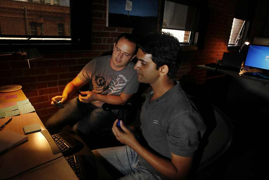 Rosh Ross, senior software engineer, and Parth Patil, senior software engineer, work together at the StumbleUpon office on Wednesday, August 31, 2011 in San Francisco, Calif. Photo: Lea Suzuki, The Chronicle