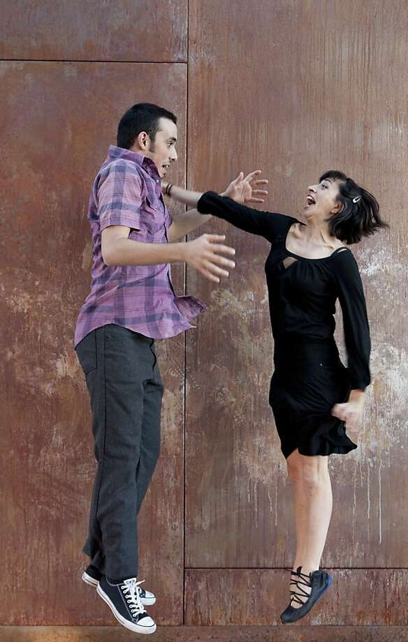 13th Floor dancers Eric Garcia and Christine Bonansea will perform at RAWdance's Concept series 9. Photo: Lydia Daniller