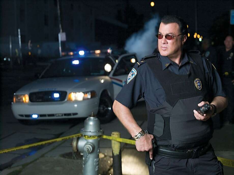"""Steven Seagal appears in """"Steven Seagal: Lawman"""" on A&E.  Ran on: 12-02-2009 Steven Seagal appears on an A&E reality series, showing the work he has been doing for 20 years in the Jefferson Parish Sheriff's Office in Louisiana. Photo: Michael Muller"""