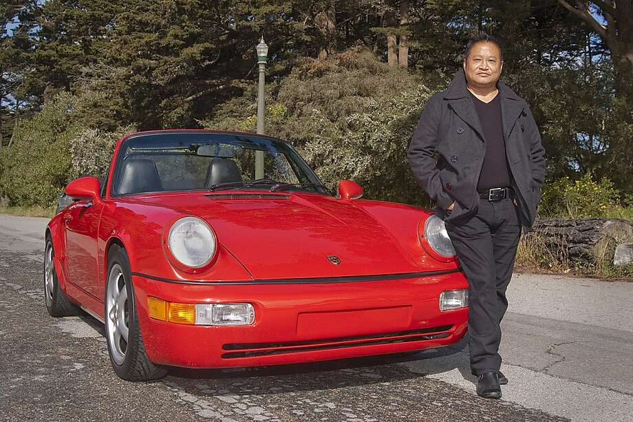 Photos of Martin Fong and his 1987 Porsche 911 Cabriolet Carrera Custom photographed in Golden Gate Park, San Francisco, CA on May 18, 2011 Photo: Stephen Finerty