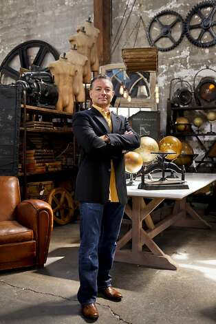 Shane Brown of Big Daddy's Antiques is seen in his warehouse store on Monday, Aug. 1, 2011 in San Francisco, Calif. Photo: Russell Yip, The Chronicle
