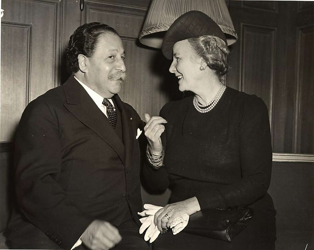 Pierre Monteux and Leonora Wood Armsby. Photo credit: Courtesy of San Francisco Symphony