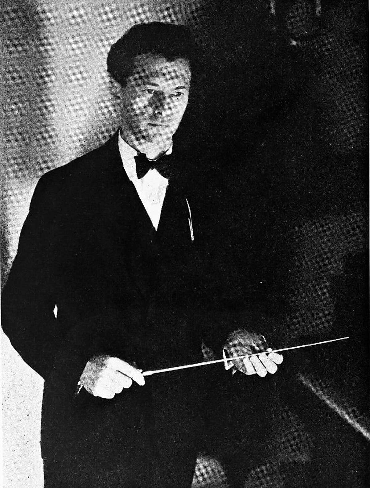 Issay Dobrowen, San Francisco Symphony conductor