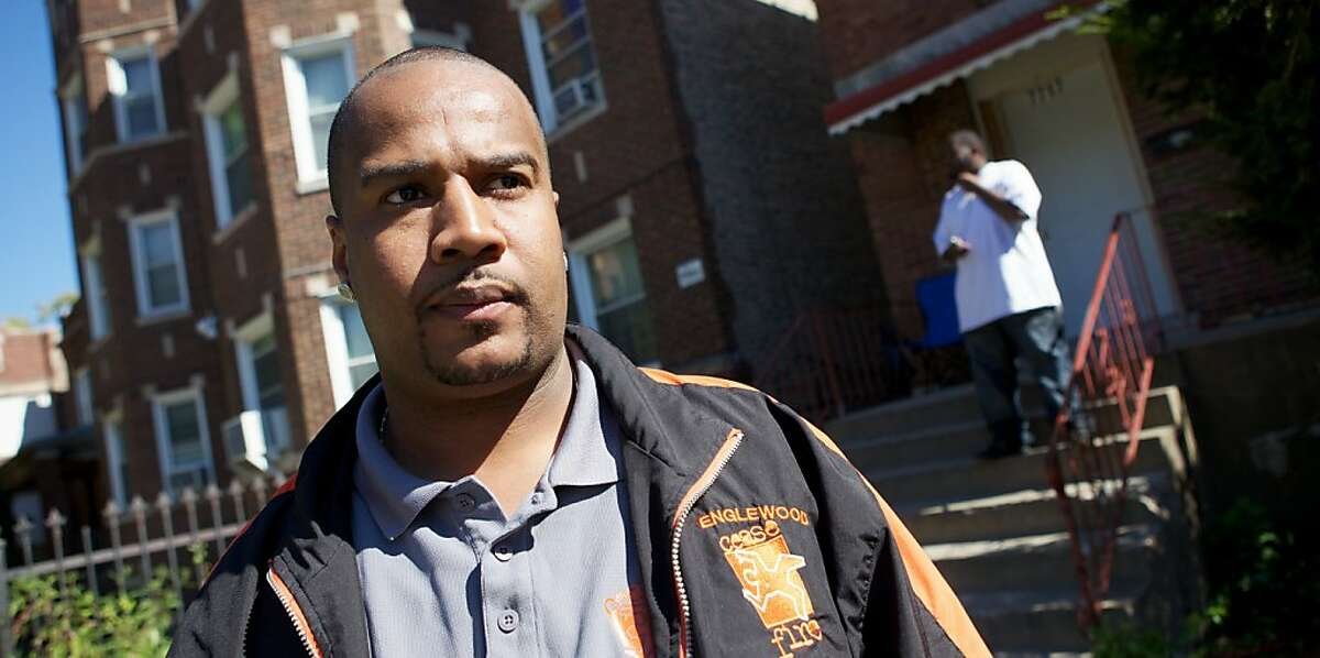 Violence interrupter Cobe Williams appears in a scene from,