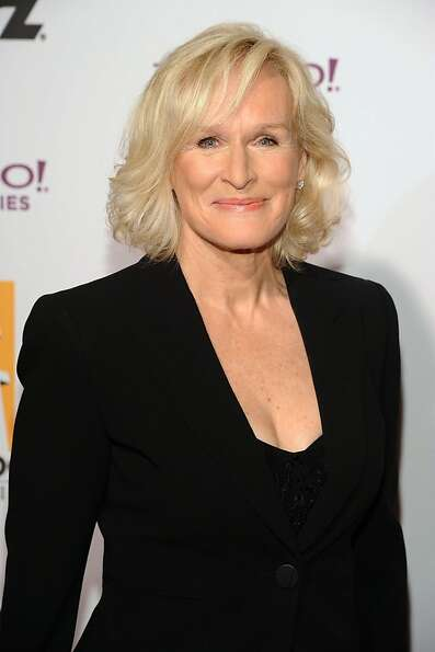 Glenn Close arrives at the 15th Annual Hollywood Film Awards Gala on Monday, Oct. 24, 2011 in Beverl