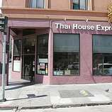 Thai House Express is the restaurant at 901 Larkin St. (at Geary St.) in the Tenderloin. The restaurant is open daily for lunch and dinner. 8/23/06 {Frederic Larson/The Chronicle}    Ran on: 08-25-2006 Thai House Express has two locations, at 901 Larkin St. in the Tenderloin (above), and in the Castro at 599 Castro St.