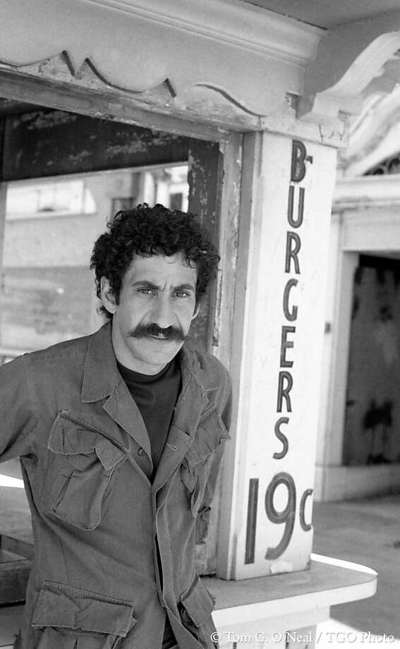 Musician Jim Croce died in a plane crash in Natchitoches, Texas after the plane he was flying in clipped a tree after takeoff. Photo: Tom G. O'Neal, TGO Photo