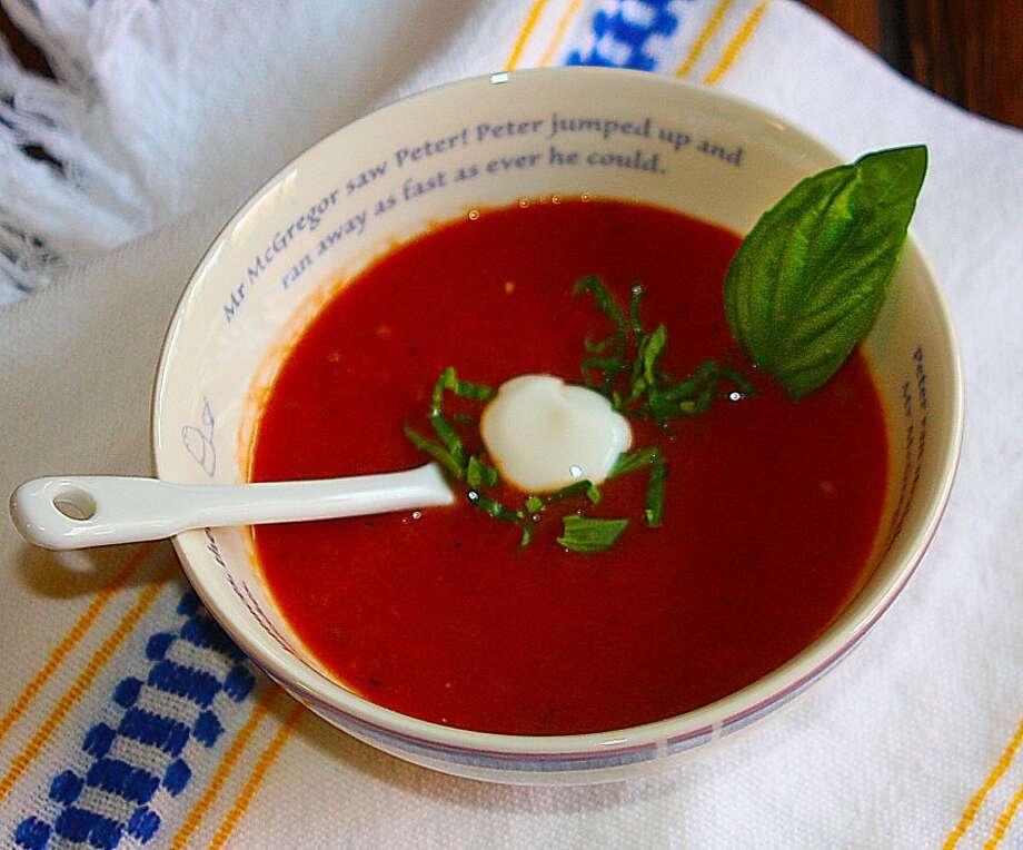 Milena's Tomato Soup Photo: Robert McMahan