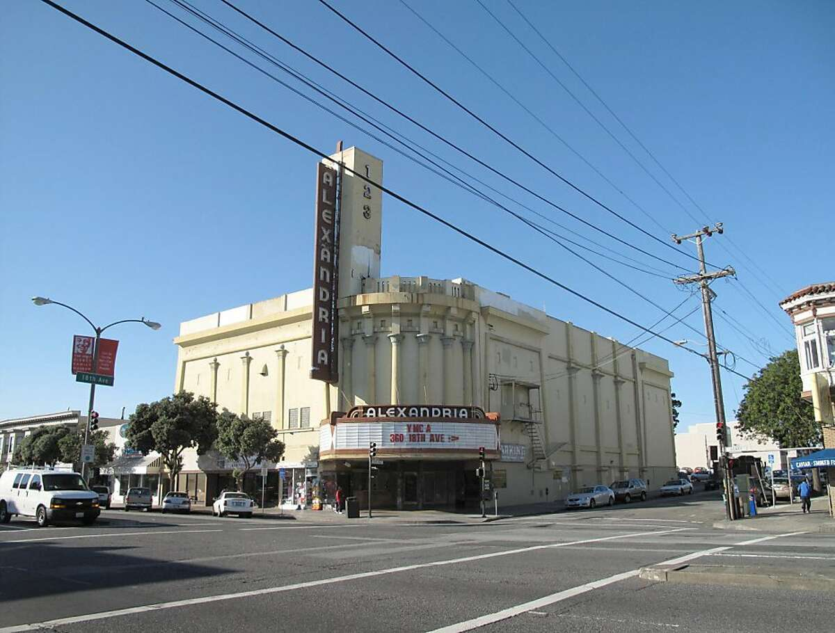 The Alexandria Theater in 2011.