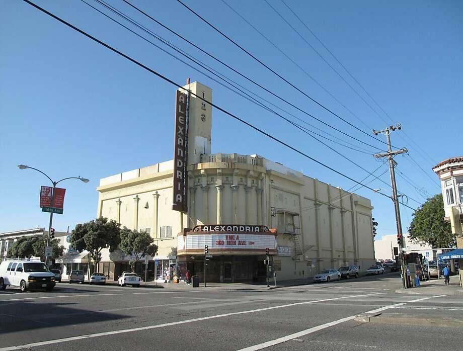 The Alexandria Theater in 2011. Photo: Peter Hartlaub, The Chronicle