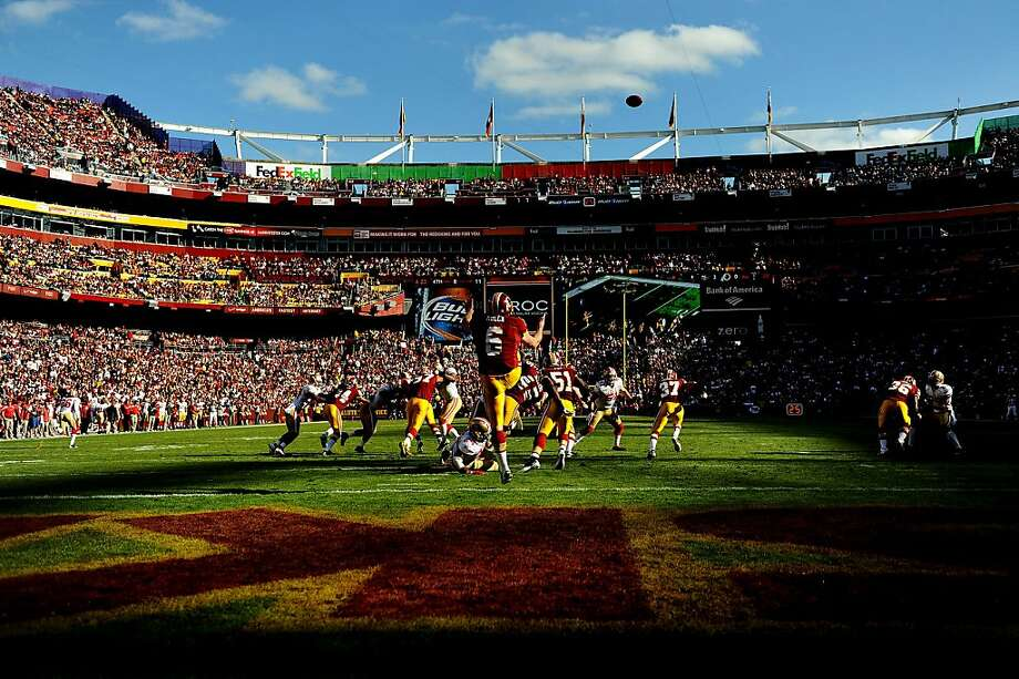 FedEx Field – Washington Redskins – $9.5 million per year. Photo: Patrick Smith, Getty Images