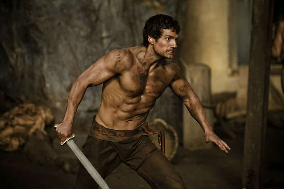 "Henry Cavill as Theseus in ""Immortals."" Photo: Relativity Media"