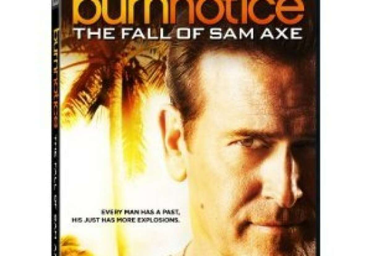 dvd cover THE FALL OF SAM AXE