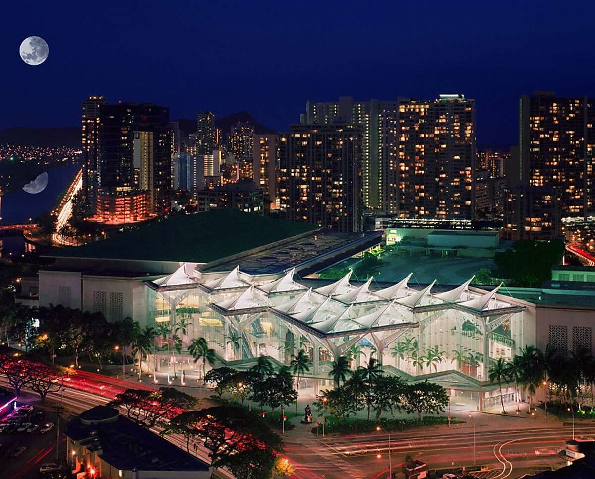 The Hawaii Convention Center, site of next week's Asia-Pacific Economic Cooperation conference, opened in 1998 in Honolulu on what was said to be the busiest intersection in the state: Kalakaua Avenue and Ala Wai Boulevard