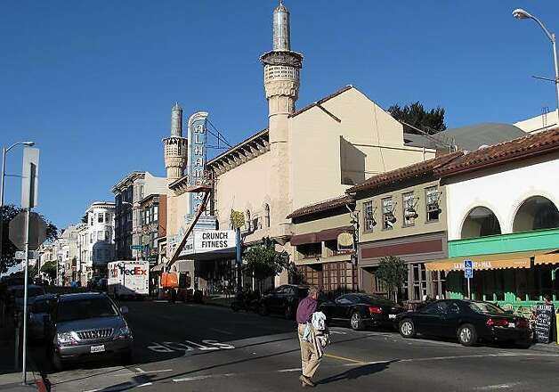 Alhambra now. Peter Hartlaub took photos of neighborhood theaters for his Let's Go to the Morgue! series. Photo: Peter Hartlaub, The Chronicle
