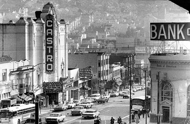 The Castro Theater in the 1970s. Jan. 8, 1971. Photo: Joe Rosenthal, The Chronicle