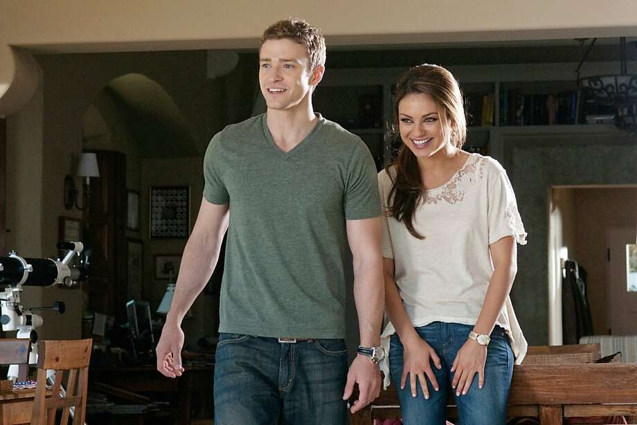 """Justin Timberlake and Mila Kunis in """"Friends With Benefits."""" Photo: Sony Pictures"""