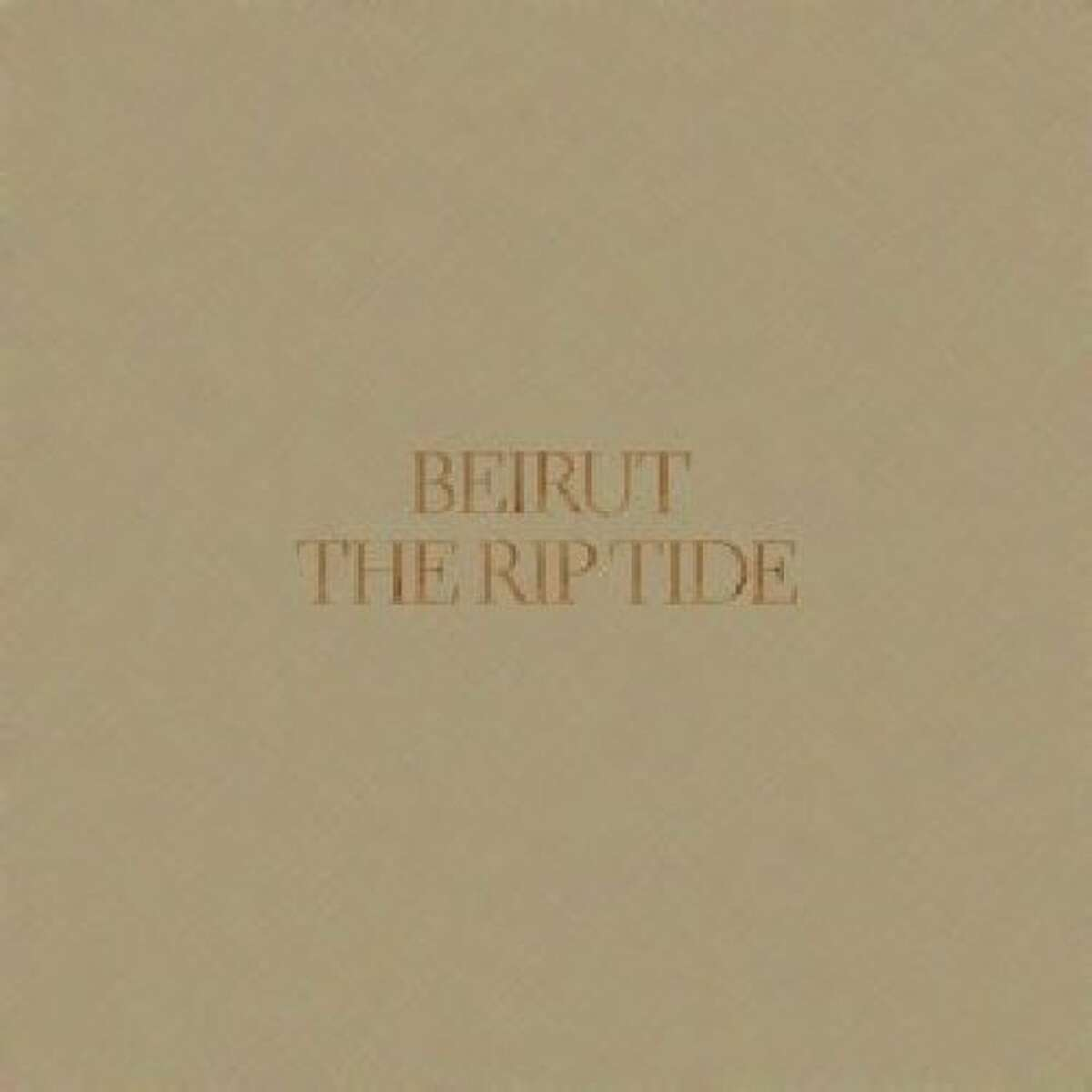 "Beruit's CD ""The Rip Tide."""