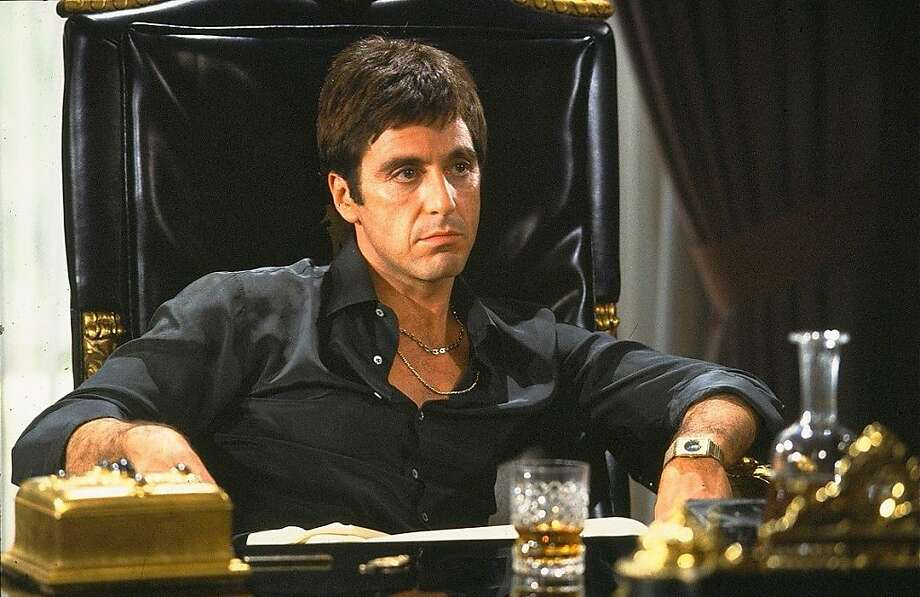 """Al Pacino in """"Scarface."""" Photo: Universal Pictures 1983"""