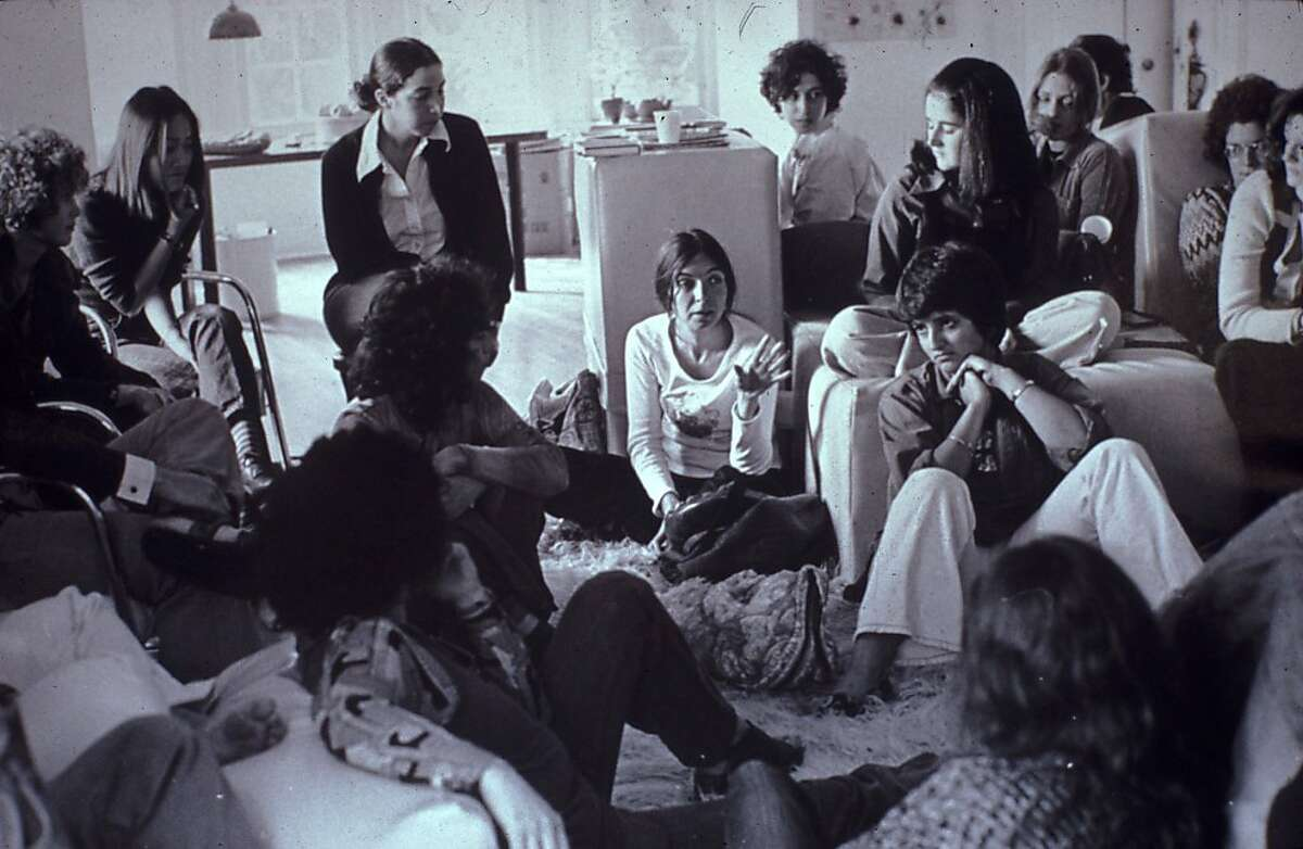 Feminist Studio Workshop in 1973, as seen in !WOMEN ART REVOLUTION, a film by Lynn Hershman Leeson.