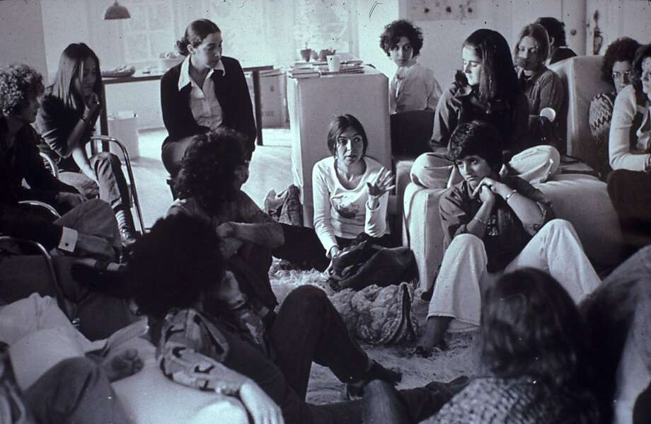 Feminist Studio Workshop in 1973, as seen in !WOMEN ART REVOLUTION, a film by Lynn Hershman Leeson. Photo: Sheila Levrant De Bretteville Ar