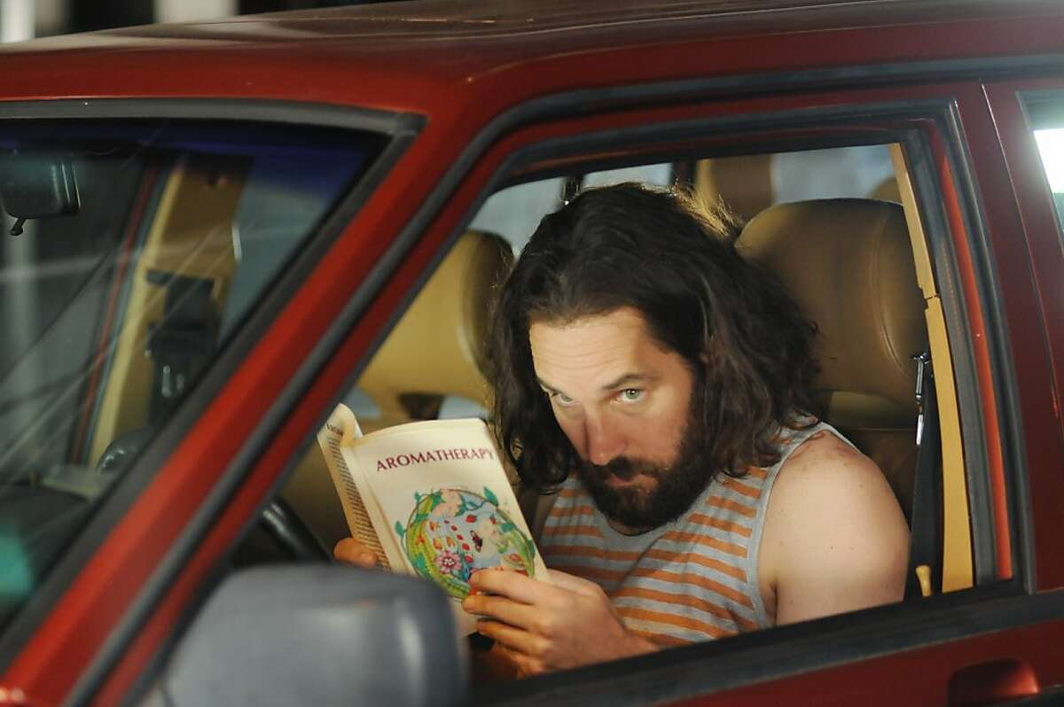 """Paul Rudd in Jesse Peretz's film """"Our Idiot Brother."""" PAUL RUDD stars in OUR IDIOT BROTHER Photo by: Nicole Rivelli ©2011 The Weinstein Company. All Rights Reserved."""