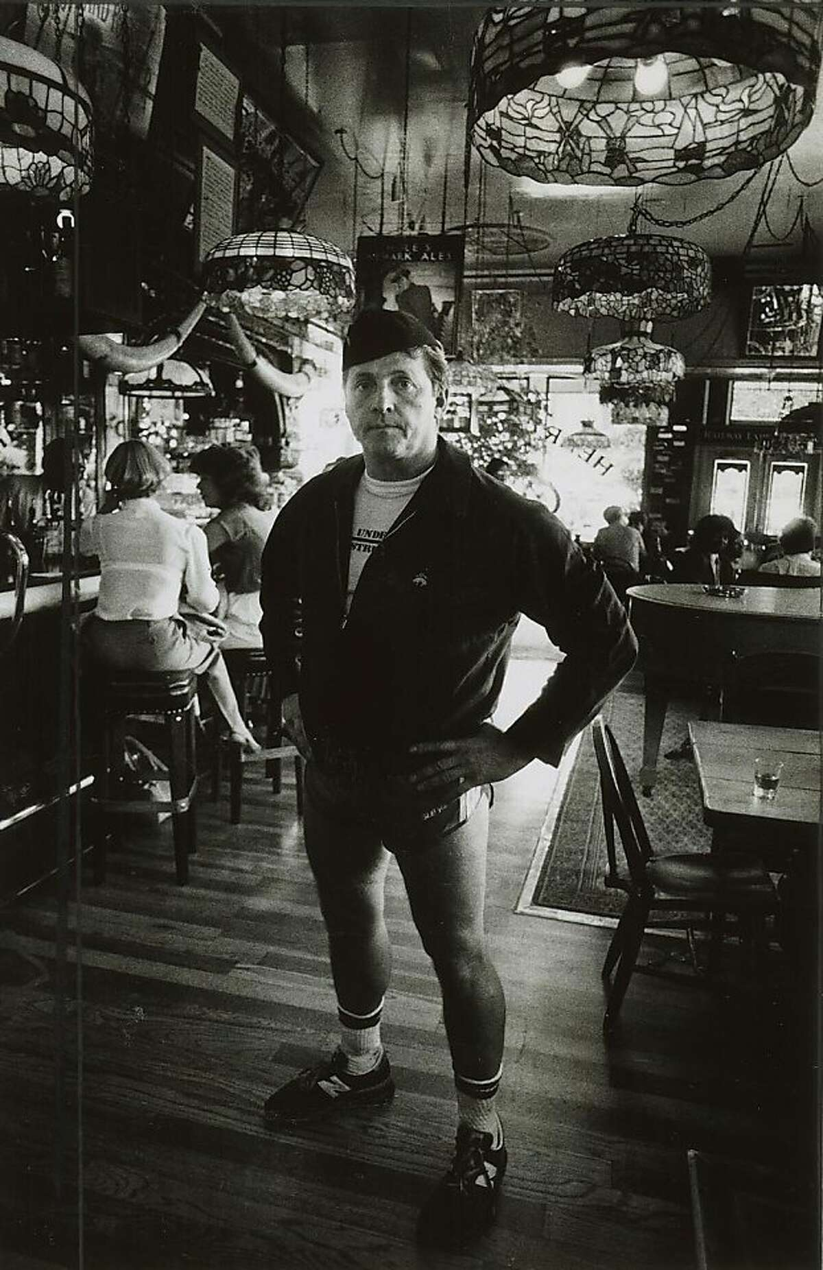 """1983 - Henry Africa in his saloon, """"henry Africa's,"""" in 1983, the year he quit the business. Ran on: 07-06-2008 Henry Africa, also known as Norman Hobday, brought fern bars to San Francisco. He decided to sell his place in 1983. Ran on: 03-02-2011 Henry Africa, born Norman Jay Hobday, at his namesake joint and original fern bar, so named because of the lush plants he used to decorate the place. Ran on: 03-02-2011 Henry Africa, born Norman Jay Hobday, at his namesake joint and original fern bar, so named because of the lush plants he used to decorate the place."""