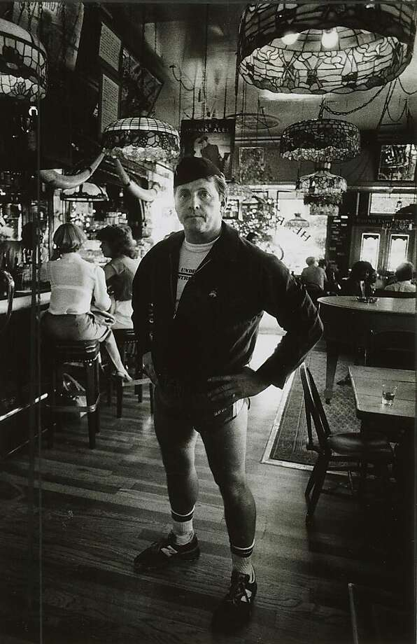 """1983 - Henry Africa in his saloon, """"henry Africa's,"""" in 1983, the year he quit the business. Ran on: 07-06-2008 Henry Africa, also known as Norman Hobday, brought fern bars to San Francisco. He decided to sell his place in 1983.  Ran on: 03-02-2011 Henry Africa, born Norman Jay Hobday, at his namesake joint and original fern bar, so named because of the lush plants he used to decorate the place. Ran on: 03-02-2011 Henry Africa, born Norman Jay Hobday, at his namesake joint and original fern bar, so named because of the lush plants he used to decorate the place. Photo: Jerry Telfer, S.F. Chronicle"""