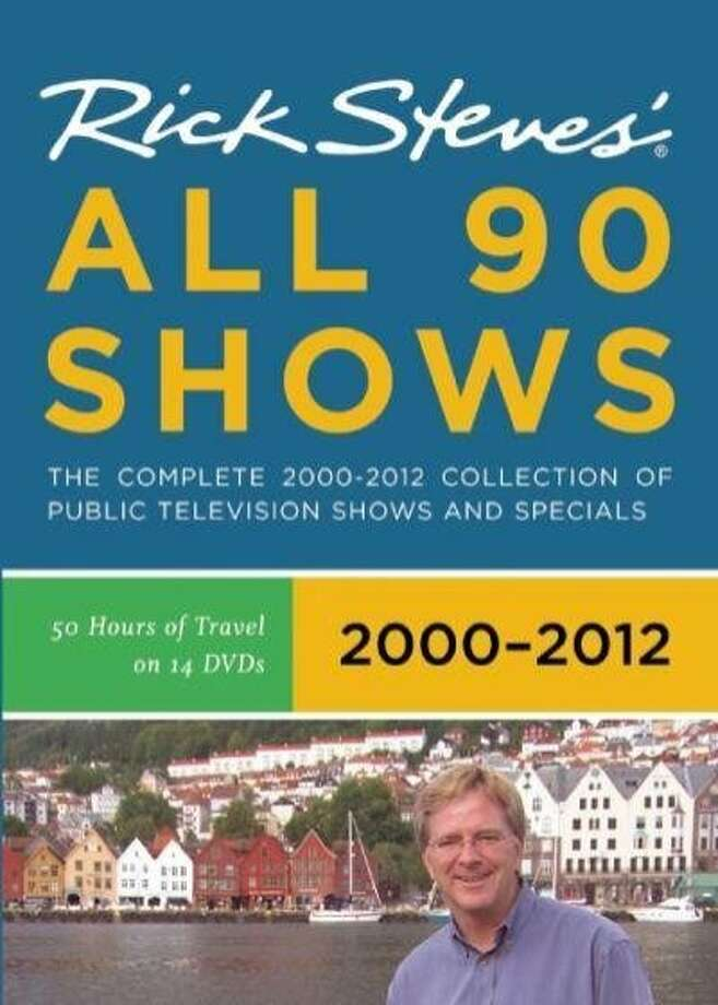 DVD cover: Rick Steves' Europe: All 90 Shows 2000-2012. Photo: Back Door Productions