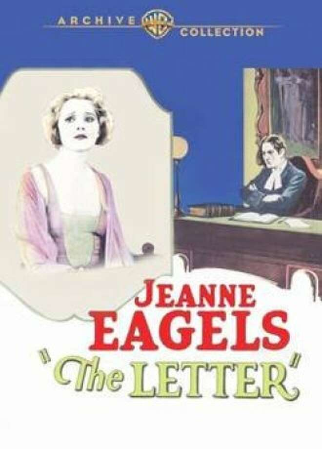 """DVD cover for """"The Letter"""" (1929) Photo: Warner Archive"""