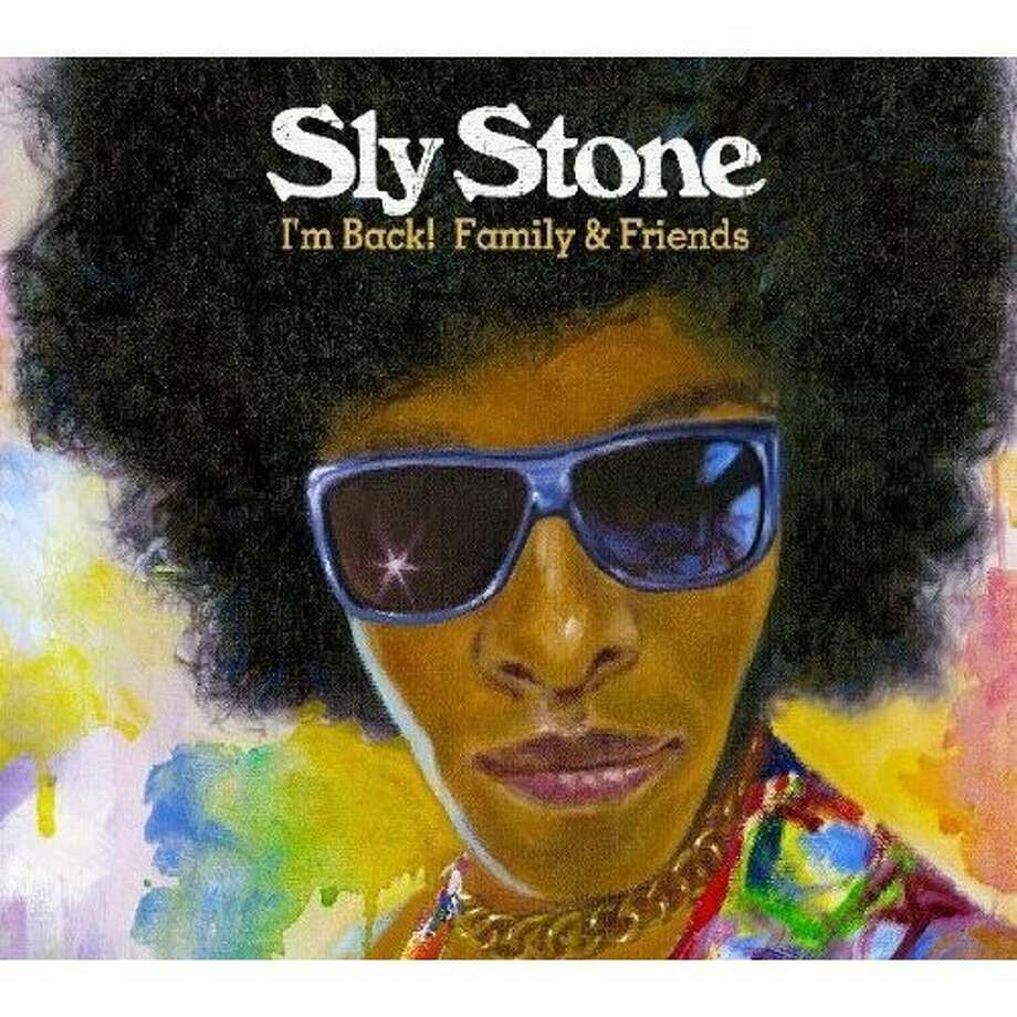 "CD cover: Sly Stone's ""I'm Back! Family & Friends"" Photo: Cleopatra Records"