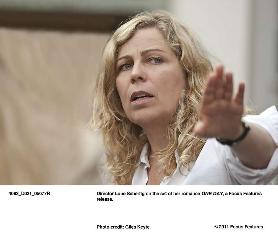 """Lone Scherfig, director of """"One Day."""" Photo: Giles Keyte, Focus Features"""