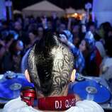 DJ Quantum performs in the Visual Life Experience Intel tent at Outside Lands Music and Art Festival in Golden Gate Park in San Francisco, Calif., August 12, 2011.