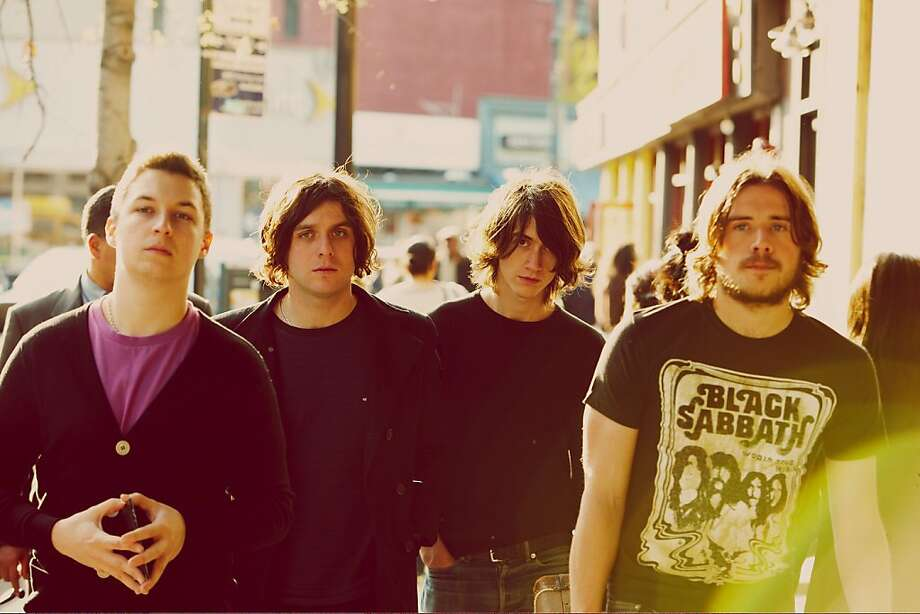 Arctic Monkeys. Photo: Press Here