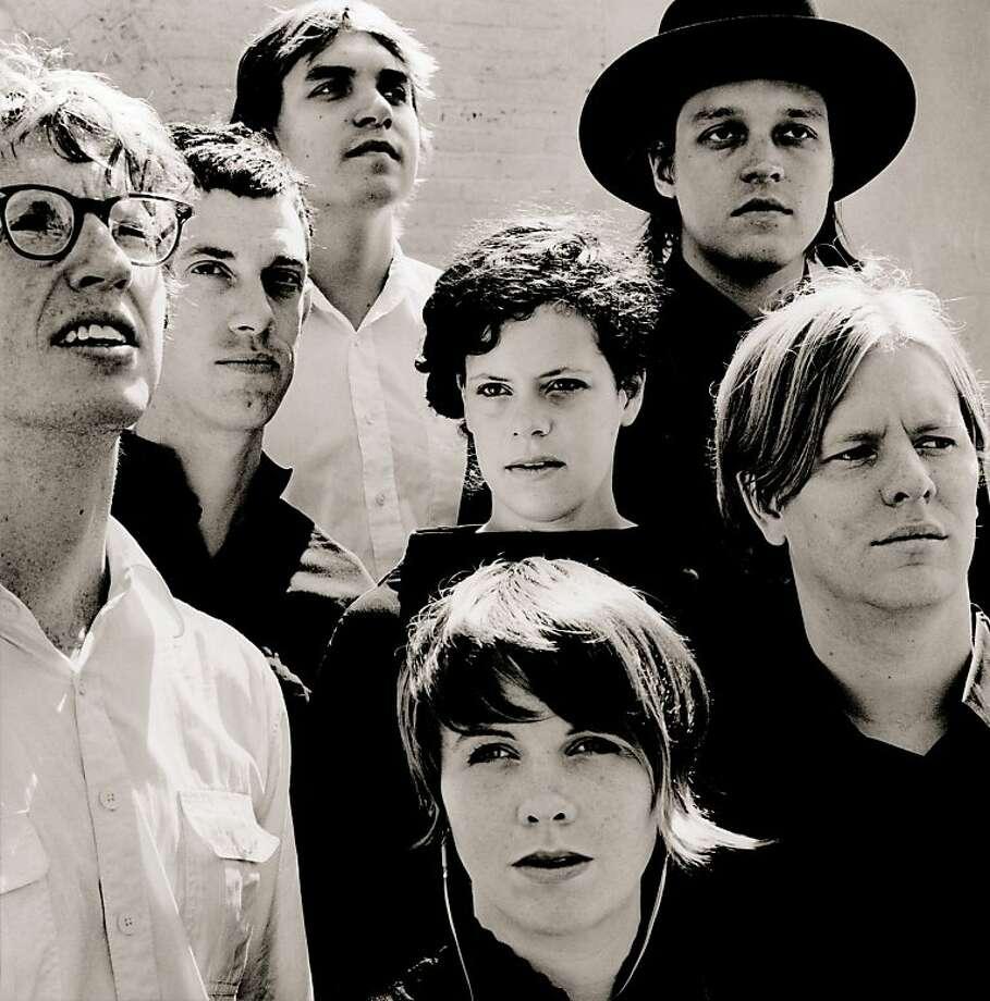 Arcade Fire. Photo: Merge