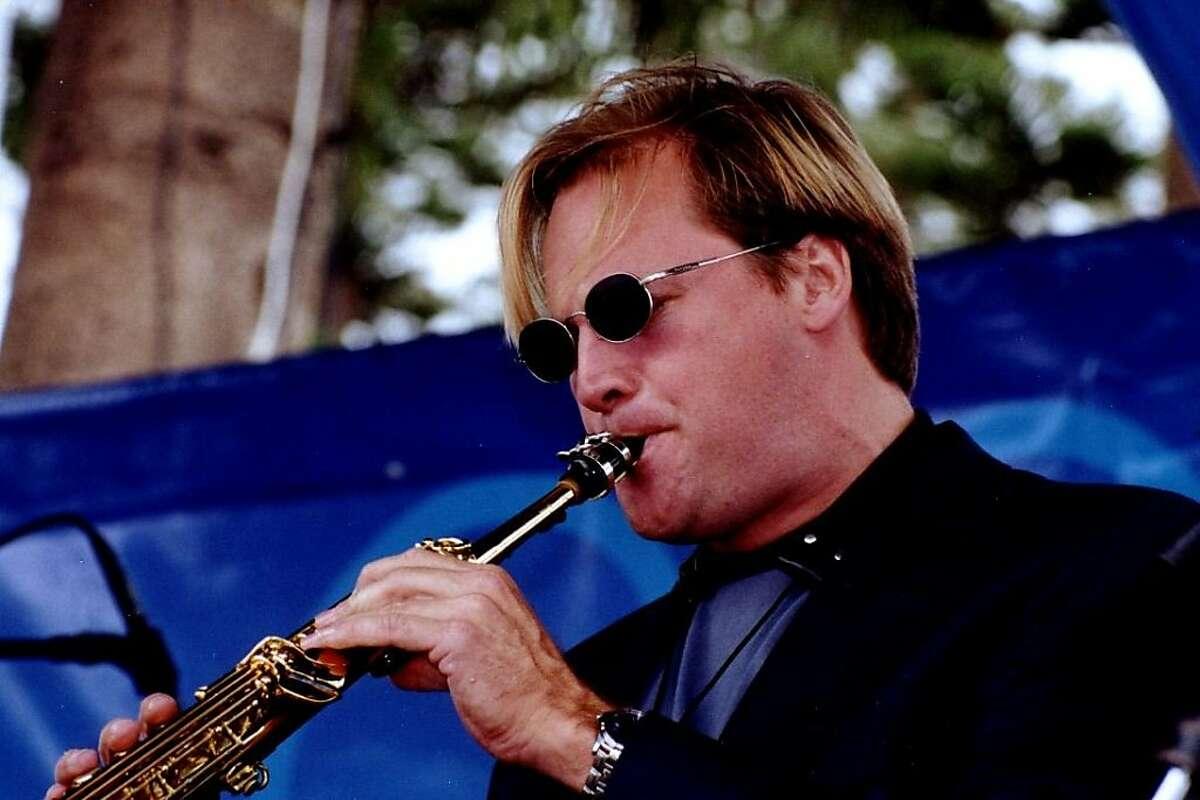 Saxophonist Andrew Speight