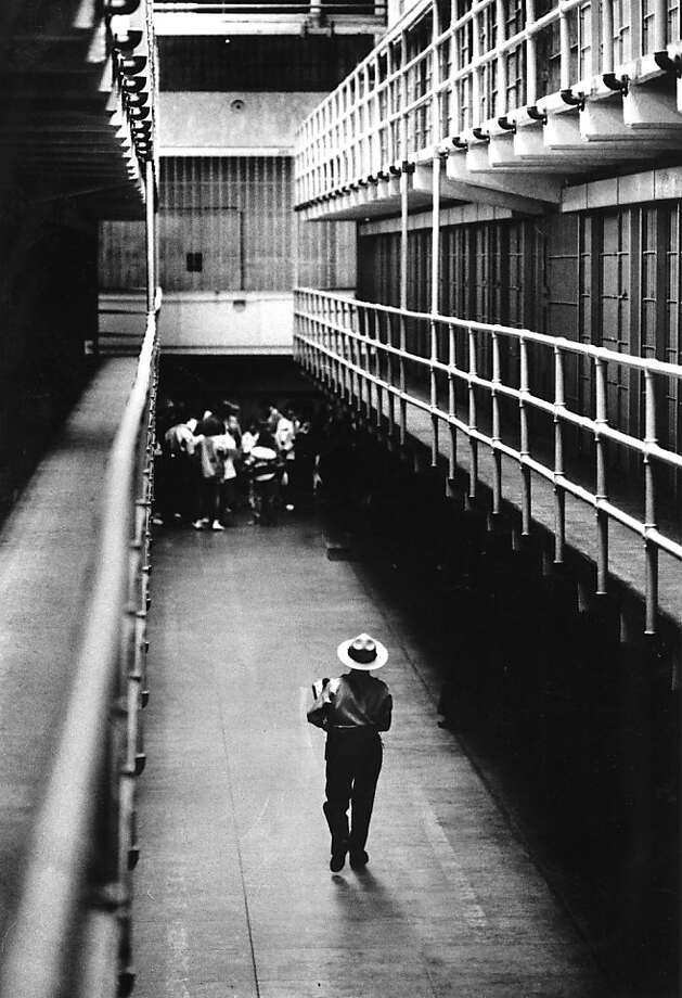 Numerous people from former prison guards to visitors have reported hearing inexplicable cries and other noises at Alcatraz. Others have reported being struck by a sudden chill. It is, after all, Alcatraz. Photo: Eric Luse